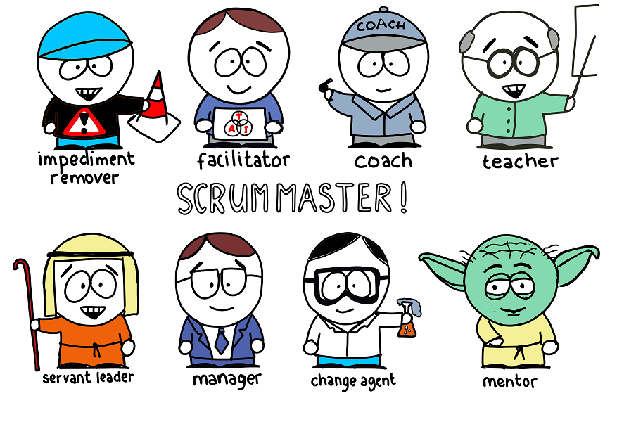 8 Stances of Scrum Master by Barry Overeem