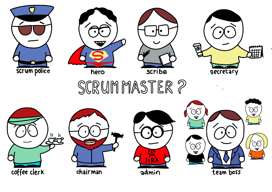 Misunderstanding of Scrum Master role